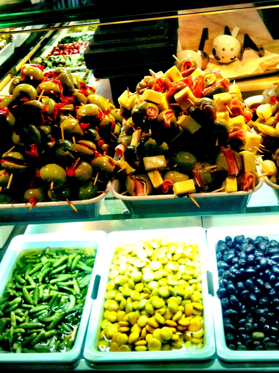 Olives at The Mercado, Madrid