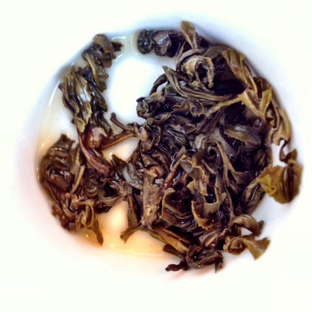 Unfurled Pinhead Gunpowder Green Tea