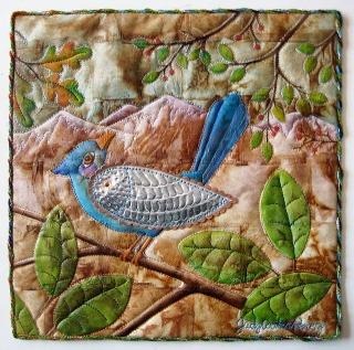 Judy Coates Perez teabag art