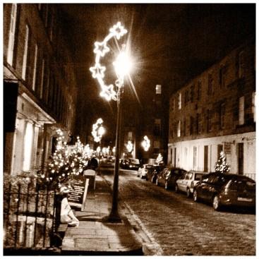 Christmas Lights William Street