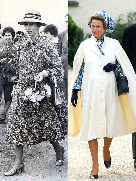 pregnant Princess Anne