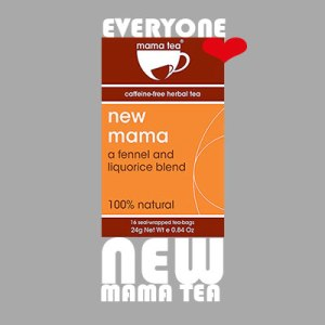 Breastfeeding Herbal Tea - New Mama Herbal Tea