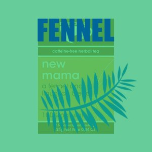 Fennel Tea - Breastfeeding Tea - New Mama