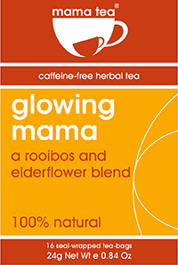 elderflower and rooibos herbal tea for pregnancy mama tea