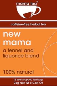 new mama breastfeeding herbal tea