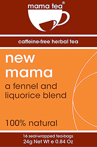 new mama breastfeeding tea