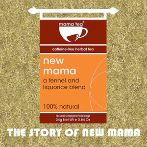 Breastfeeding Herbal Tea - New Mama