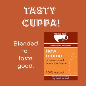 breastfeeding tea - mama tea