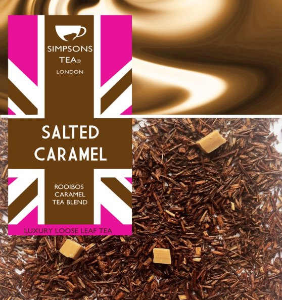 Salted Caramel Loose Leaf Tea | Simpsons Tea