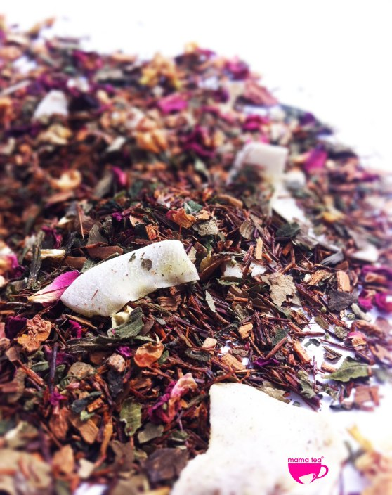 Rosy-Skin-roses | rooibos and rose tea | Mama Tea