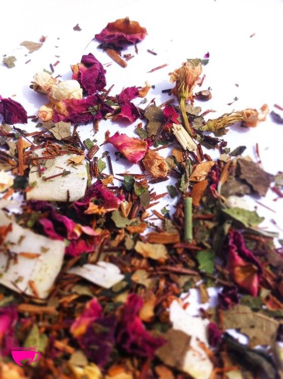 Rosy-Skin-roses | rooibos rose petal tea | Mama Tea