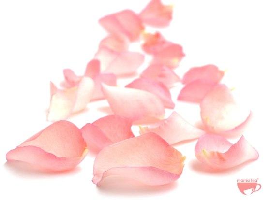 Rosy-skin-roses | rose and rooibos loose leaf tea | Mama Tea