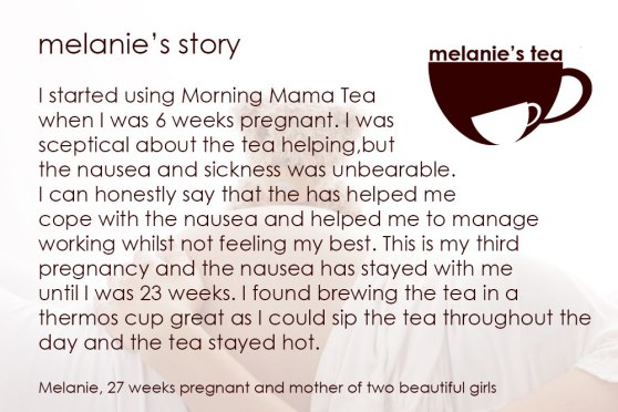 Melanie's-story | Mama Tea | Pregnancy Herbal Tea